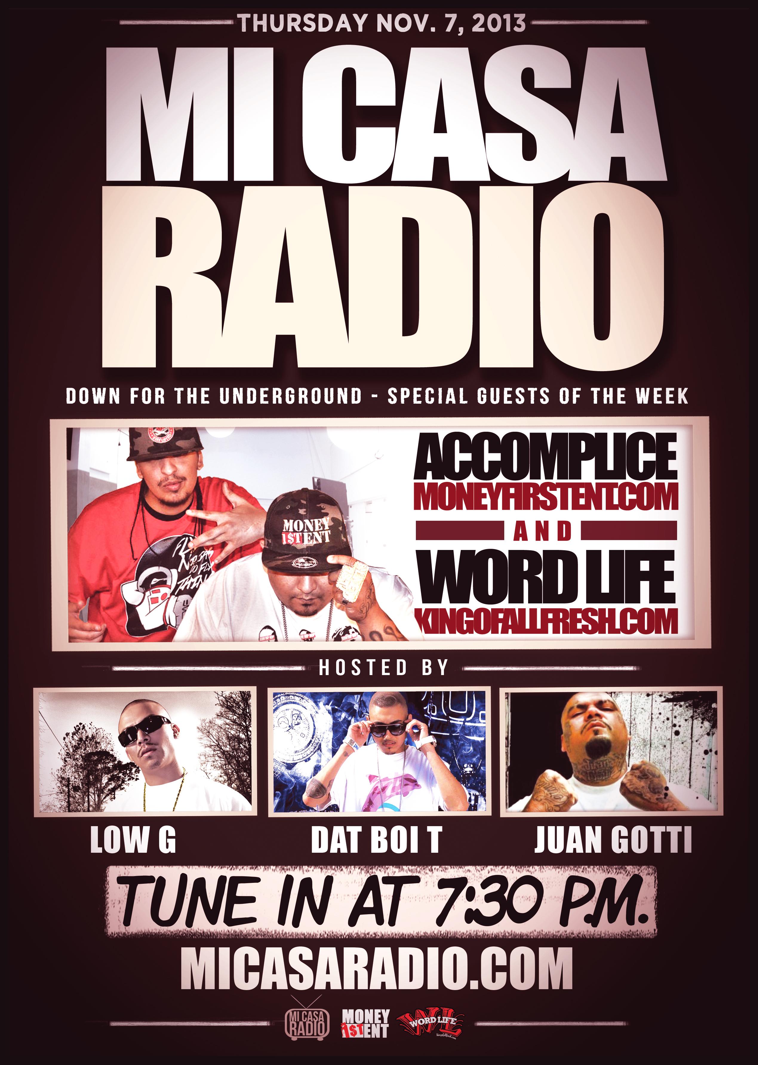 Word life live on mi casa online radio show in houston tx for Mi casa online