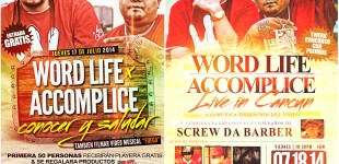 High Rollaz (Accomplice & Word Life) Live in Cancun, Mexico - July 17 & 18