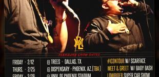 FEBRURARY 2K16 TOUR DATES