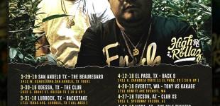 HIGH ROLLAZ 2018 TOUR